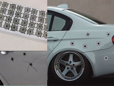 32 Bullet Hole Orifice Sticker Graphic Decal Shothole Car Auto Windows SHCA