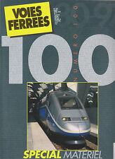 VOIES FERREES N° 100 MATERIEL MOTEUR SNCF 1997 / CC 14100 / VOITURE CORAIL LIMA