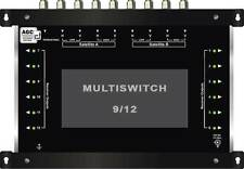 MULTISWITCH CENTRALE 9/12 DISEQC - 1SAT 1TER / MULTISCHALTER 12 RECEIVERS