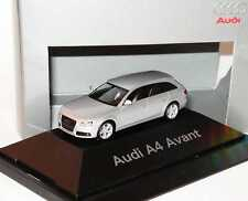 1:87 Audi A4 Avant B8 ice silver silver - Dealer Edition OEM - herpa
