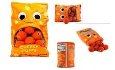 "kidrobot YUMMY WORLD XXL 24"" CHEESE PUFFS w/ 9 ""Puffs"" Deluxe PLUSH Set HUGE"