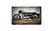 1957 ariel nh Bike Motorcycle A4 Retro Metal Sign Aluminium