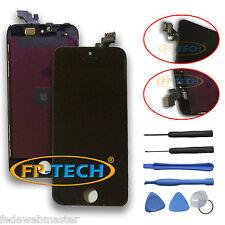 TOUCH SCREEN DISPLAY LCD RETINA SCHERMO E VETRO + FRAME PER APPLE IPHONE 5 NERO