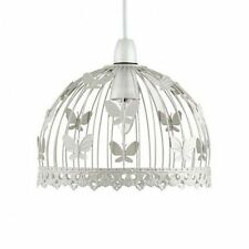 Shabby Chic Butterfly Ceiling light Pendant Light shade Cream