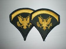 US ARMY SPECIALIST 5 RANK VIETNAM ERA -1 PAIR
