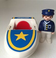Playmobil 123 Coastal Search And Rescue Boat With Figure 6720