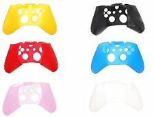 Xbox One Control Pad Soft Silicone Skin Coloured Cover Controller Rubber Green