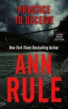Practice To Deceive (Thorndike Press Large Print Mystery Series)