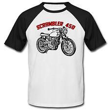HONDA Scrambler 450 Ispirato-Nuovo T-shirt Cotone-Tutte le taglie in magazzino