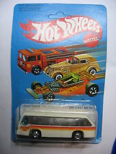 HOT WHEELS RAPID TRANSIT #3256 MATTEL 1982 MINT UNPUNCHED CAR AUTOBUS