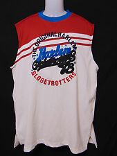 HARLEM GLOBETROTTERS by FUBU Mens Jersey Style Shirt XL Embroidered Basketball