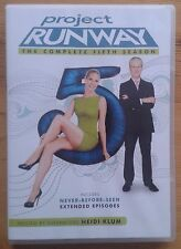 Project Runway The Complete Fifth Season DVD boxset Region 1 (US), Series 5