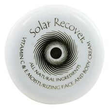 Solar Recover - Vitamin C & E Moisturizing Face And Body Cream - 2 oz.