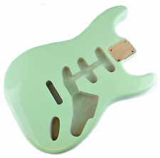 Surf Green Stratocaster Electric Guitar Body - 2 Piece American Alder