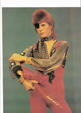 DAVID BOWIE pirate with guitar magazine PHOTO/ Poster/clipping 11x8 inches