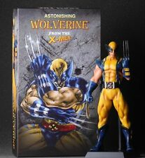 "X-MEN ASTONISHING WOLVERINE Crazy Toys Statue 11"" Figure"