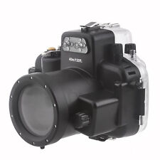 Meikon 40M Waterproof Underwater Housing Case Bag for Nikon D7000 Camera