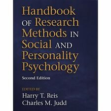 Handbook Research Methods Social Personality Psychology . 9781107600751 Cond=NSD