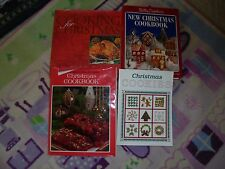 Cooking for the christmas season main dishes to desserts cookbook lot holiday