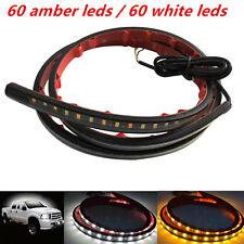 12V Car  Amber White 48'' 120SMD LED Light Strip DRL Turn Signal Indicator Pedal