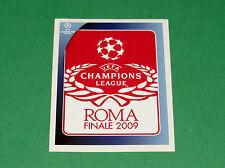 562 FINALE ROMA UEFA PANINI FOOTBALL CHAMPIONS LEAGUE 2008 2009