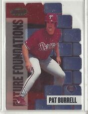 1999 Bowman's Best Future Foundations Pat Burrell Phillies FF4 MACH1 1551/3000