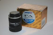 25mm Computar GoPro/Machine Vision CS Mount Camera Lens- 6-8-12mm Also Available