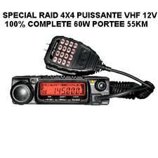 PROMO ! HYPER PUISSANTE VHF FIXE 60W PORTEE 55KM! SPECIAL 4X4 ULM TAXI DEPANNEUR