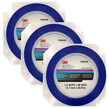 3M Vinyl Paint Tape 471+ PN6408, 1/2 in x 36 yd (Pack of 3)