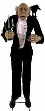 Halloween LifeSize Animated BUTLER Prop Haunted House NEW