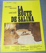 Affiche de cinéma : LA ROUTE DE SALINA de George LAUTNER