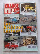Magazine Charge Utile Les archives de nos Lecteurs septembre 2008 N°189