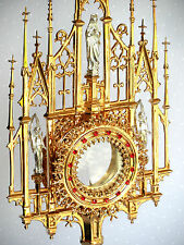 Kostbare gotische Monstranz, Monstrance