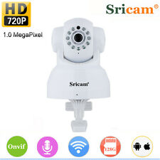 Sricam 1280*720P Wifi PTZ IR Indoor IP Camera SP005 Support 128G Micro SD Card M