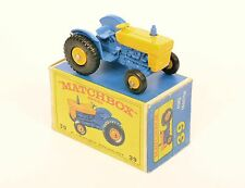Matchbox 39 c Ford Tractor *YELLOW STEERING WHEEL* RARE REALLY EXCELLENT BOXED