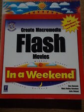Create Macromedia Flash Movies in a Weekend for Windows & Mac Web Design VGC