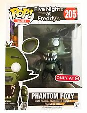 PHANTOM FOXY FUNKO POP! GAMES TARGET EXCLUSIVE FIVE NIGHTS AT FREDDY'S VINYL