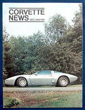 Prospekt brochure Corvette News Dec / Jan 1971 (USA)