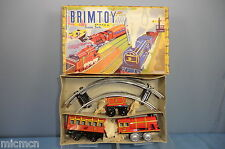 "VINTAGE BRIMTOY MINIATURE MODEL No.352 BR ""PASSENGER"" TRAIN SET  MIB"