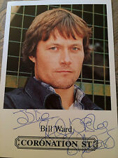 6x4 Hand Signed Photo  Bill Ward - James Barton Emmerdale, Coronation Street