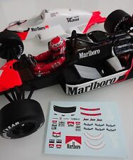 "Mclaren MP4/2B Niki Lauda "" Figure Decals "" 1985 1/18"