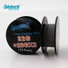 5m/roll Fused Clapton Wire heating wire for RDA RBA Rebuildable vape Coil