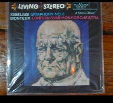 Classic Records LP 1rst Edition lsc2342 Sibelius No2 London Symph. Monteux NEW