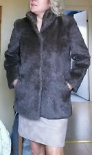 REAL FUE COAT JACKET  APPROX 10-12 NOT FOX OR MINK