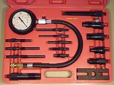 DIESEL ENGINE CYLINDER COMPRESSION TESTER KIT FOR DIESEL ENGINES - NEW IN CASE.