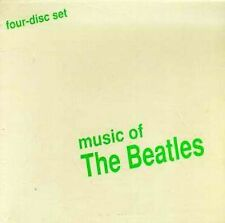 Music of the Beatles [Intersound] [Box] Various Artists (CD, 1994, 4 Disc) NEW