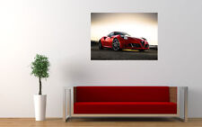 BEAUTIFUL ALFA ROMEO 4C NEW GIANT LARGE ART PRINT POSTER PICTURE WALL