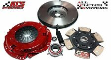 ACS STAGE 3 CLUTCH KIT+FLYWHEEL 1989-1995 TOYOTA 4RUNNER & PICKUP 2.4L 22R 22RE