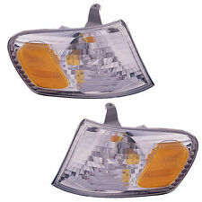 Brand New Pair of Corner Light Left & Right Fits 2001-2002 Toyota Corolla