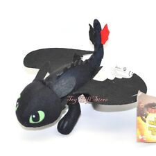 "* How To Train Your Dragon 2 * TOOTHLESS Night Fury Plush toy 8"" #2"